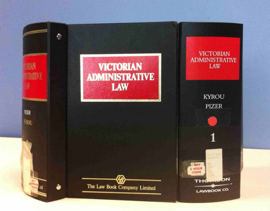 Photo of Victorian Administrative Law Harcopy volume