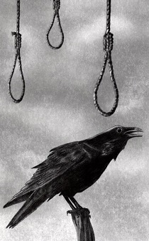 raven with nooses image