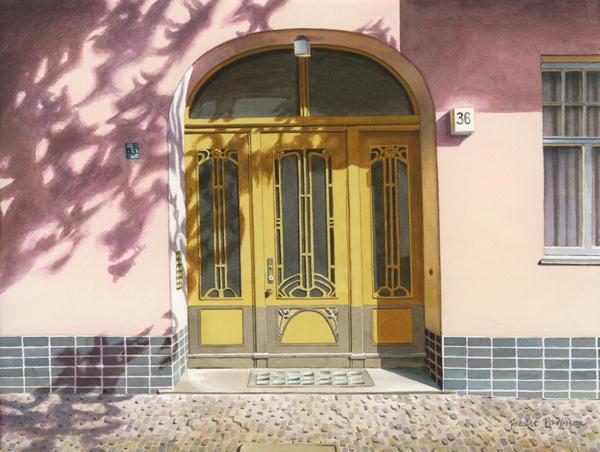 Door in Berlin