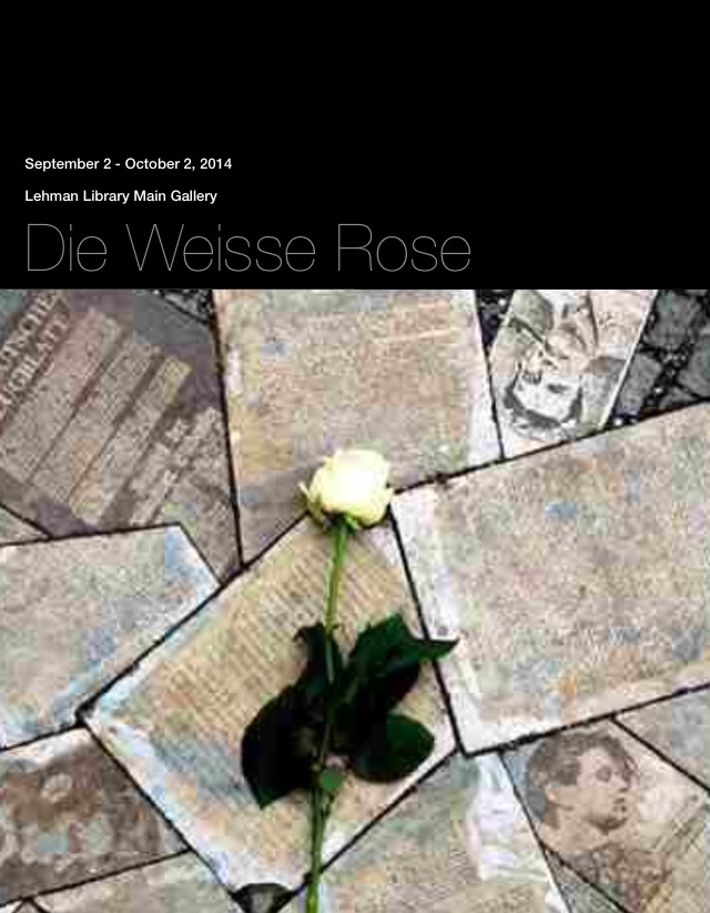 Promotinoal Poster - die Wisse Rose