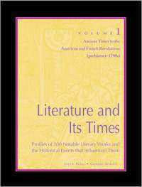 Literature and Its Times Cover Art