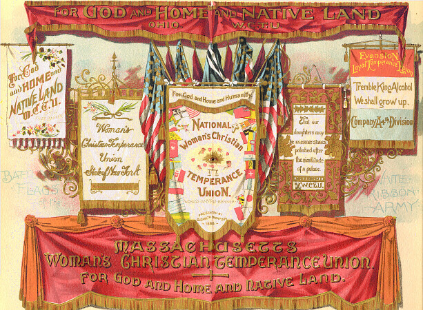 For God and home and native land. Massachusetts Woman's Christian Temperance Union