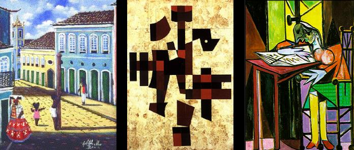 Brazilian and Spanish art images