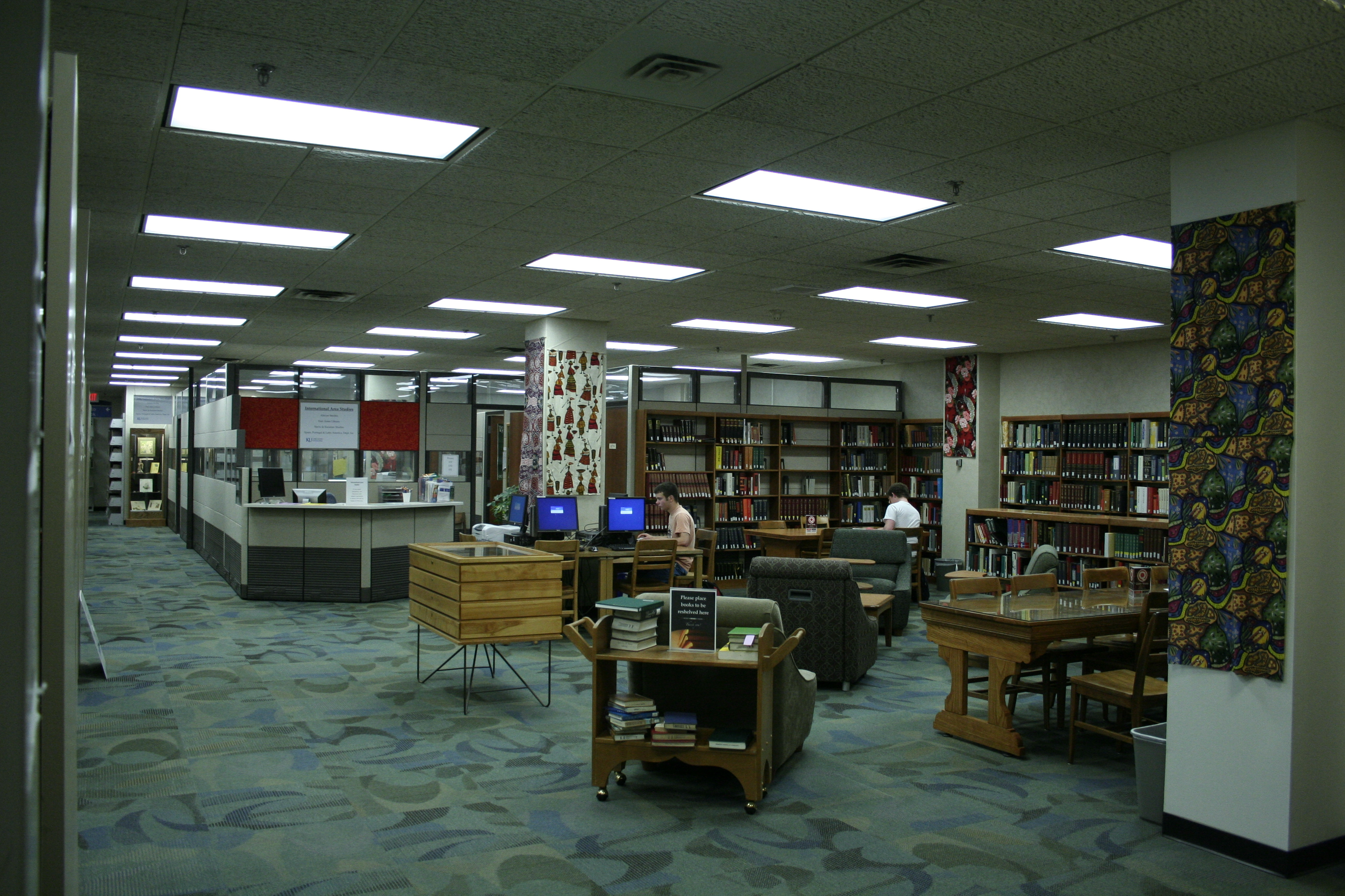 International Collections office and Reading Room