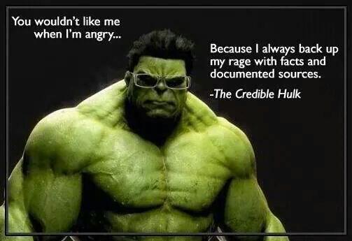 Incredible hulk quote