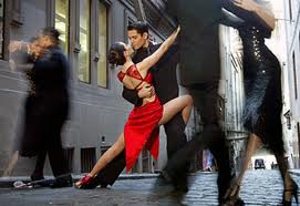 Tango Dancing in the streets