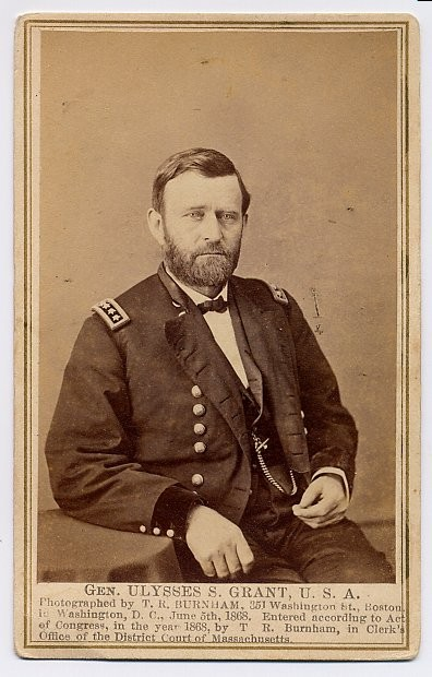 U. S. Grant with Four Stars