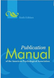 Image of APA Manual