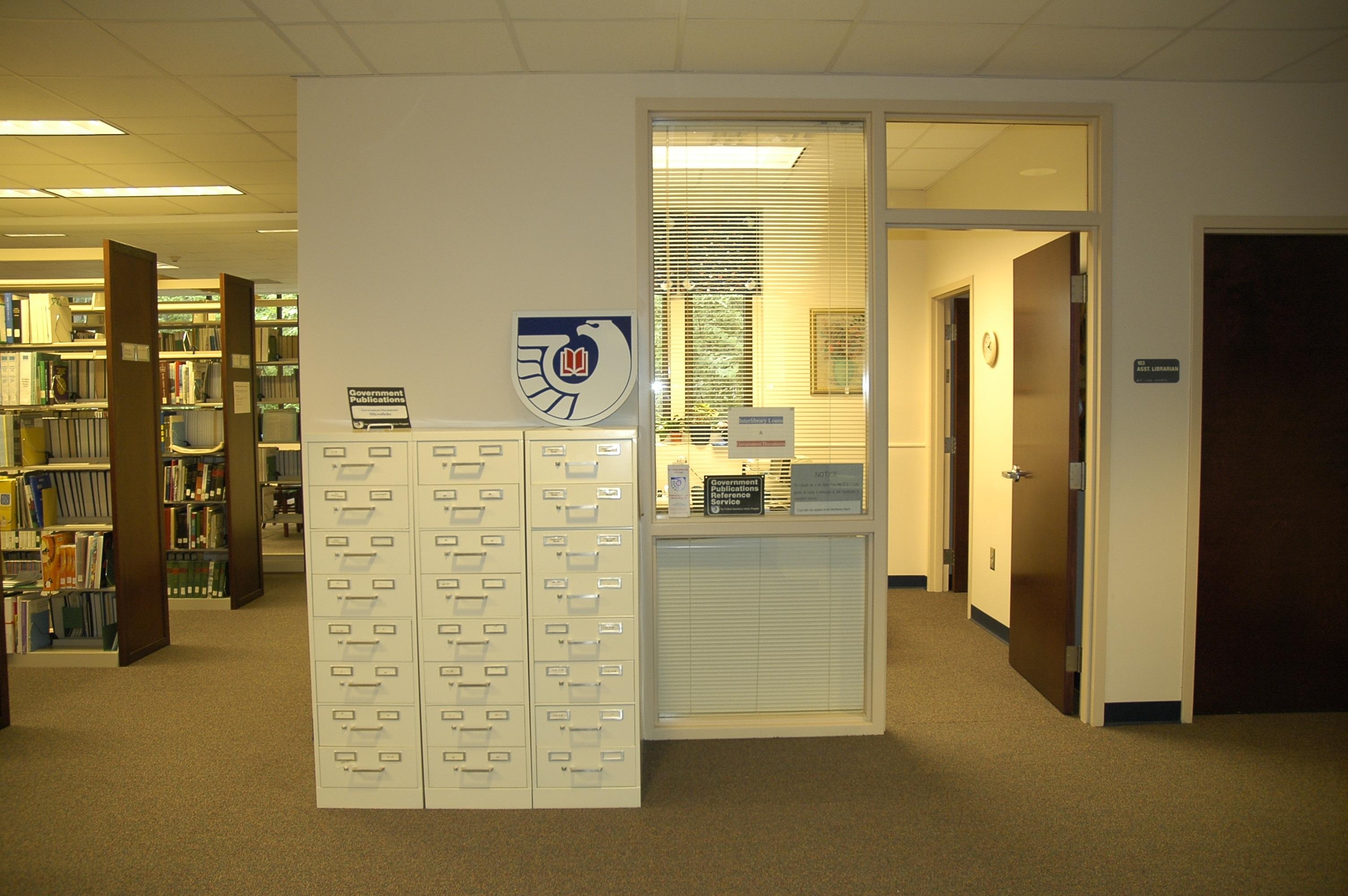 Interlibrary Loan office