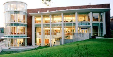 Alden Library Exterior