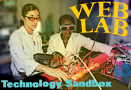 Web Lab Technology Sandbox graphic