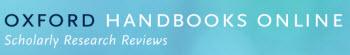 Oxford Handbooks Online (banner image)
