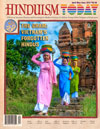 Image of the cover of Hinduism Today magazine