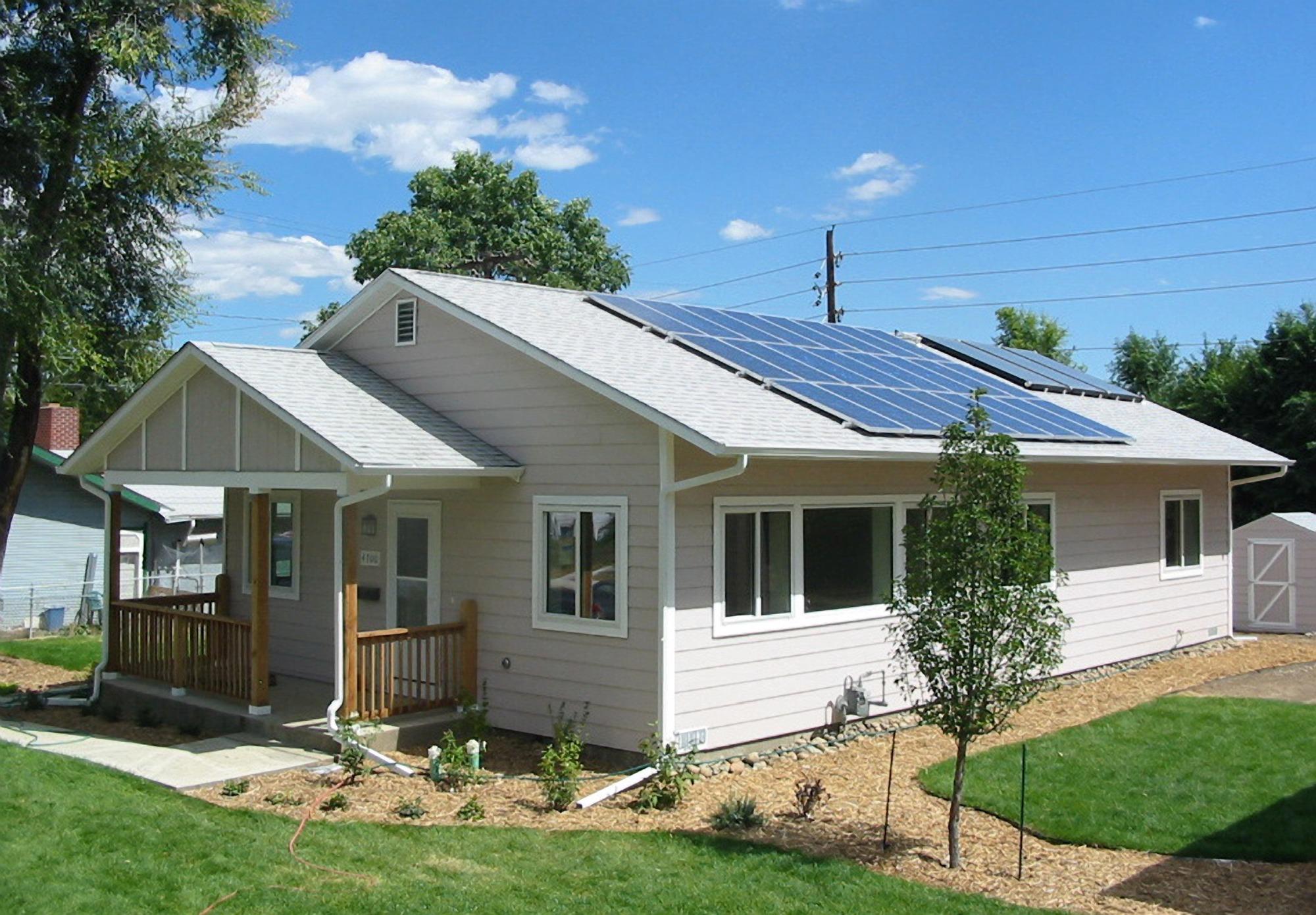 Zero energy habitat home; NREL's 2005 Habitat for Humanity house