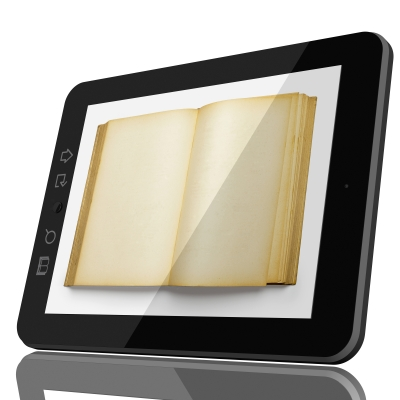 Tablet pc and book