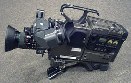Sony camera head w/Betacam SP dock recorder