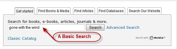 WorldCat Basic Search