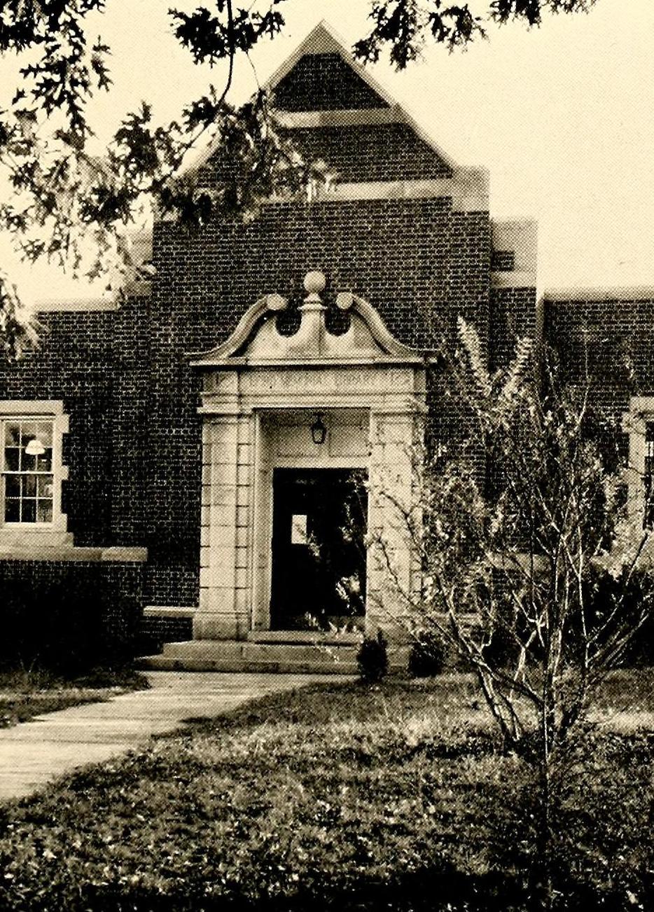 Efird Library 1950