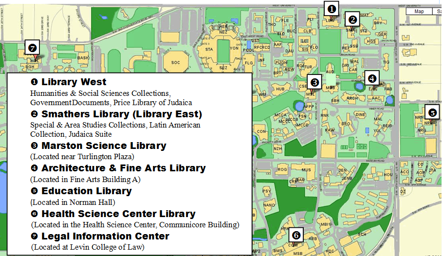 libraries map