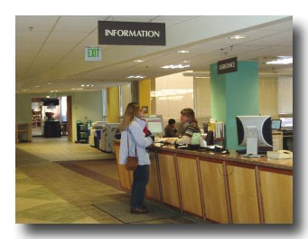 CSU Libraries Information Desk