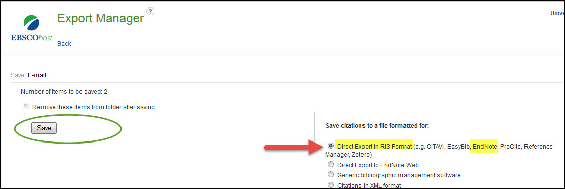 image of direct export