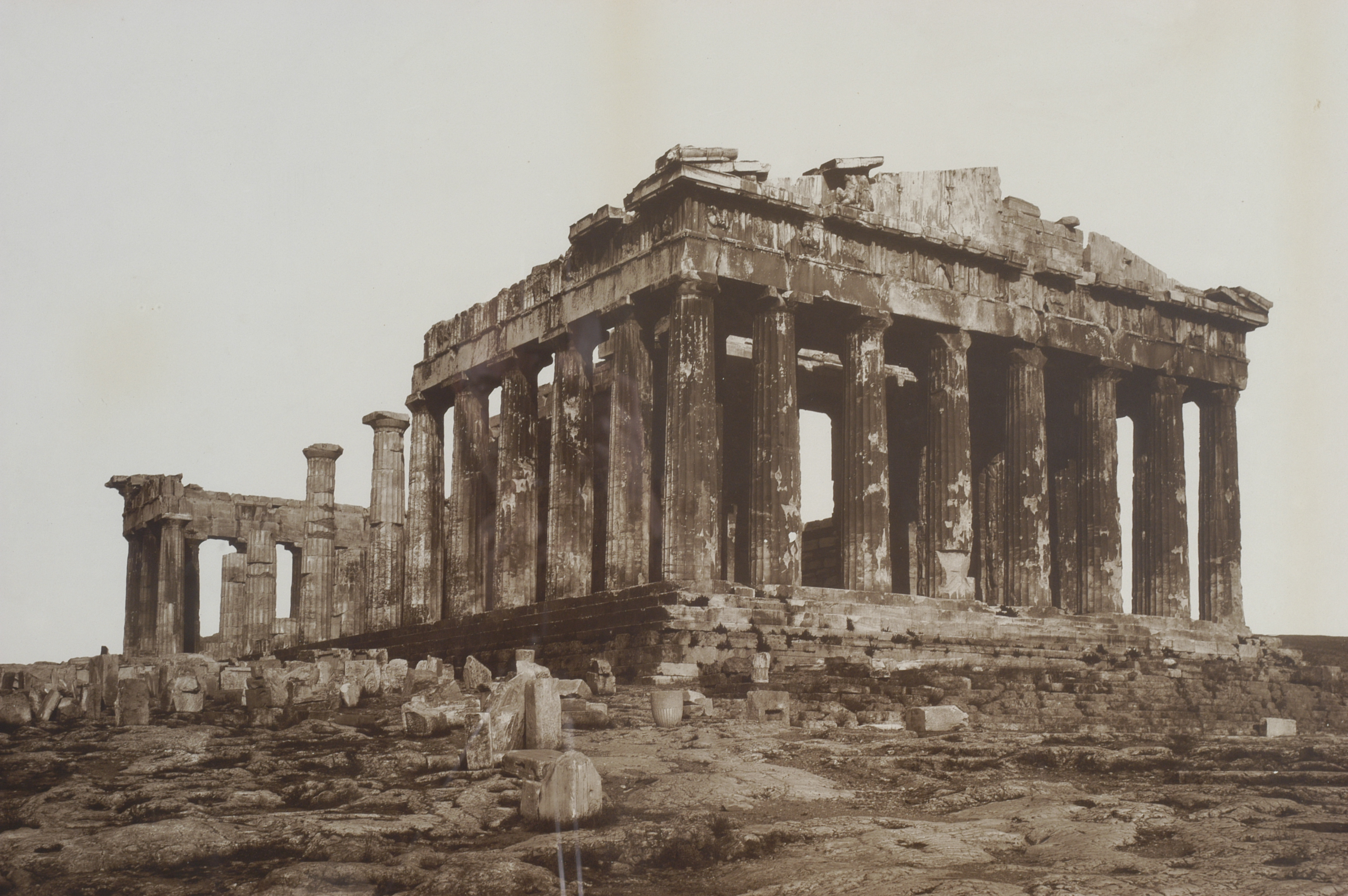 Photo of the Parthenon