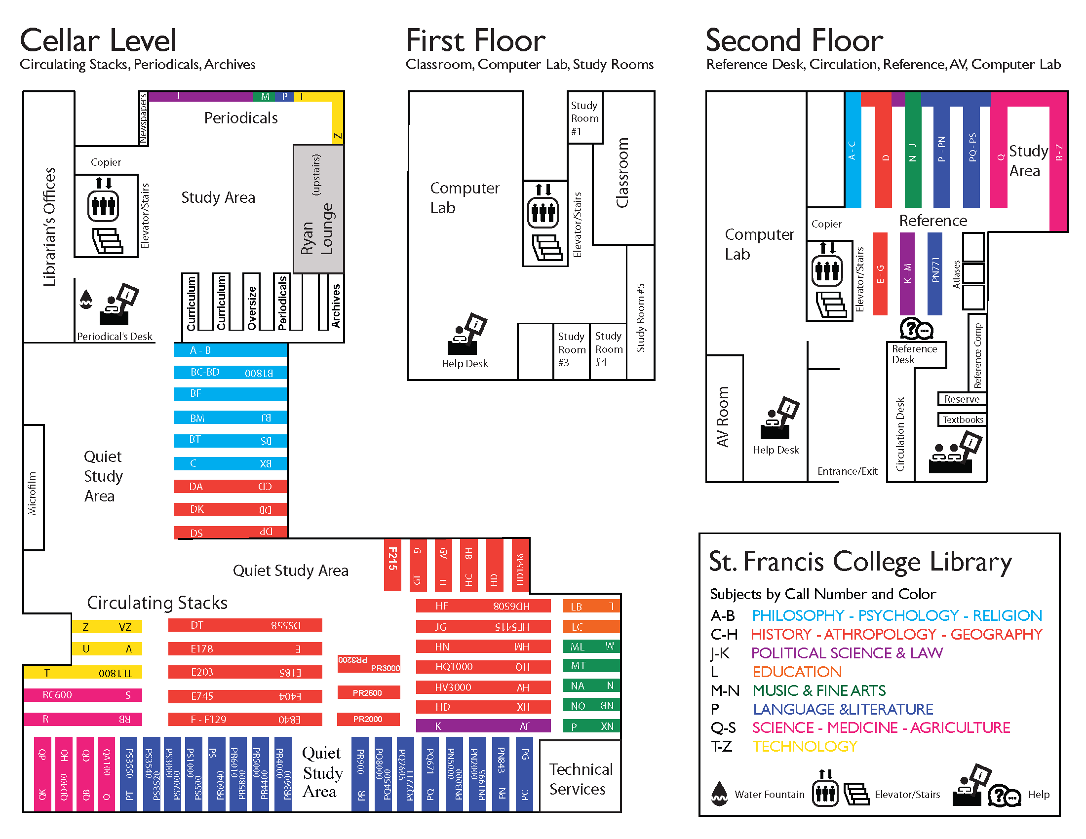 SFC Library Map
