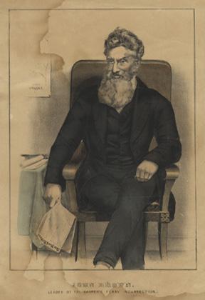 John Brown Lithograph