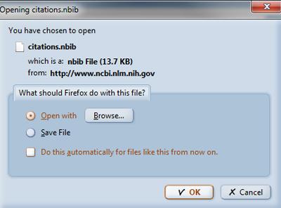 PubMed -- open file