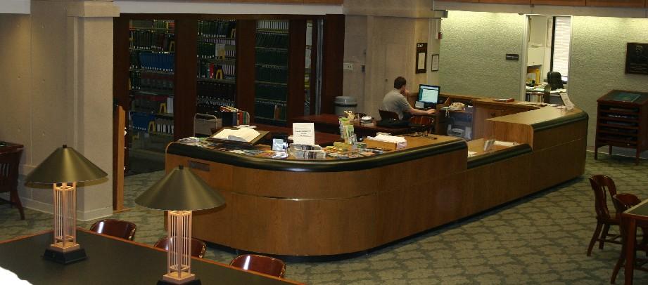 law library desk