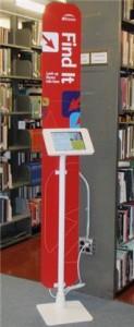 iPad information kiosk