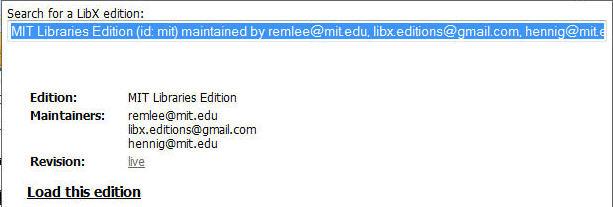 Installing LibX in Firefox