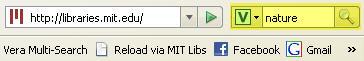 Vera Firefox search