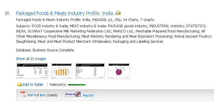 Packaged Meats industry report for India
