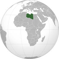 Location of Lybia