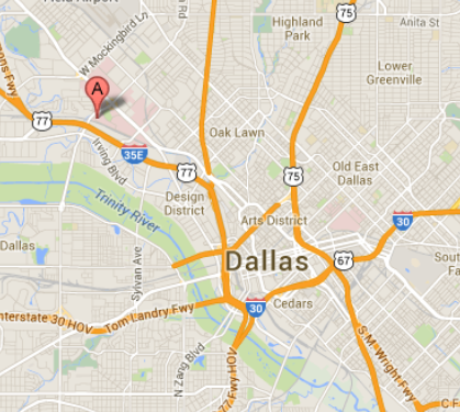 Google Map Dallas Center