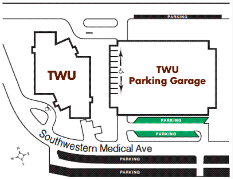 Dallas Center Handicapped Parking Map