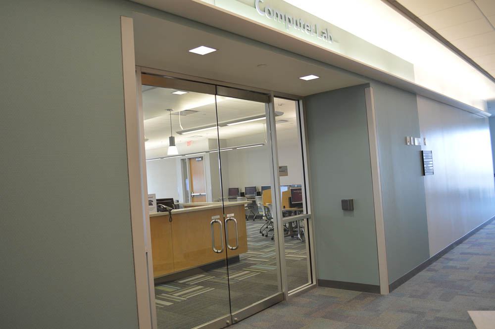 Dallas Center Computer Lab Entrance
