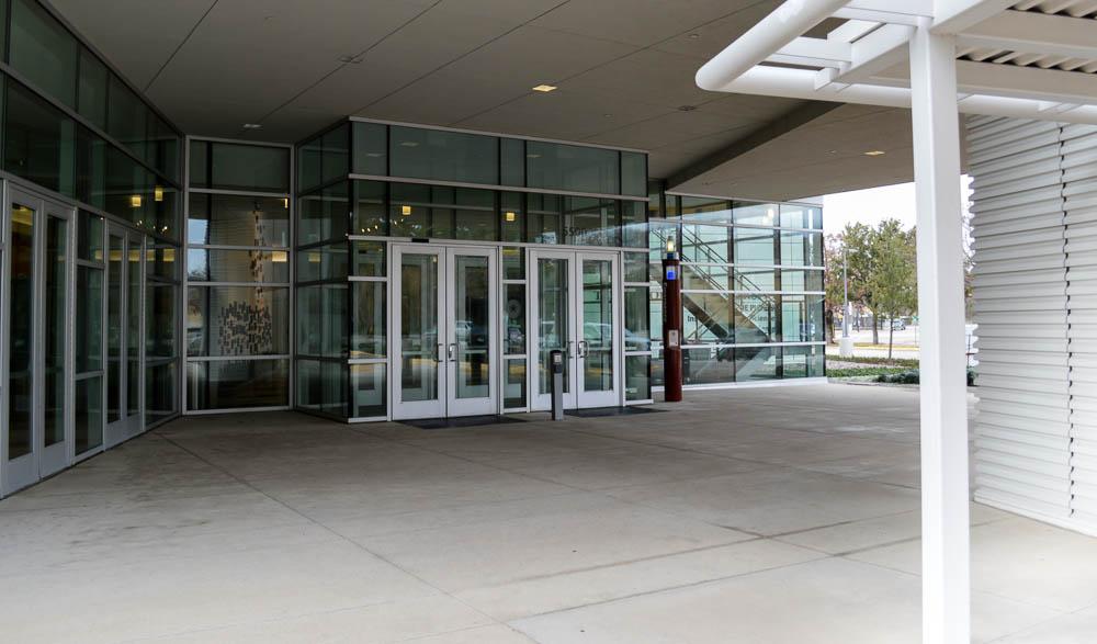 Dallas Center Entrance