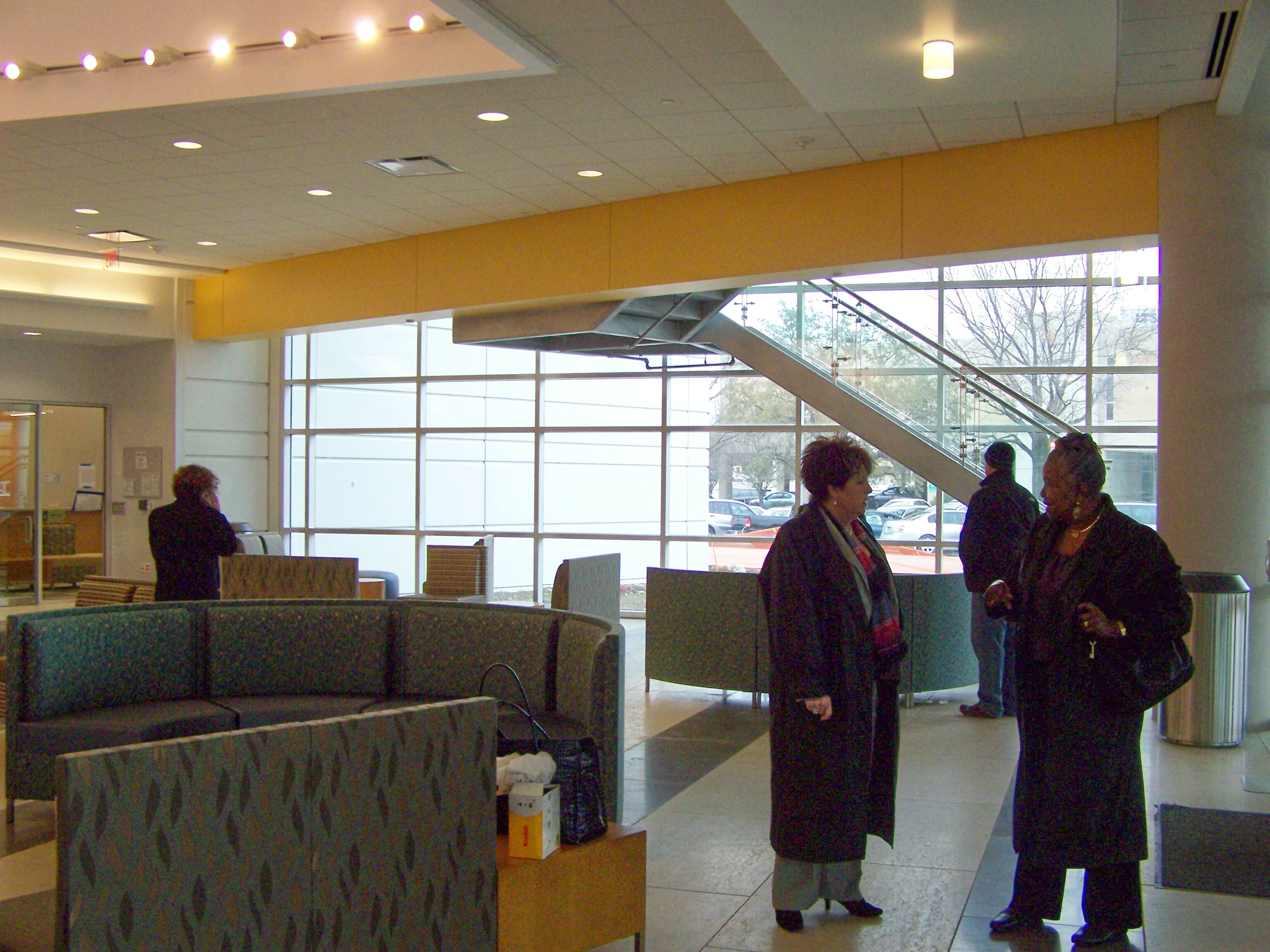 Dallas Center Lobby