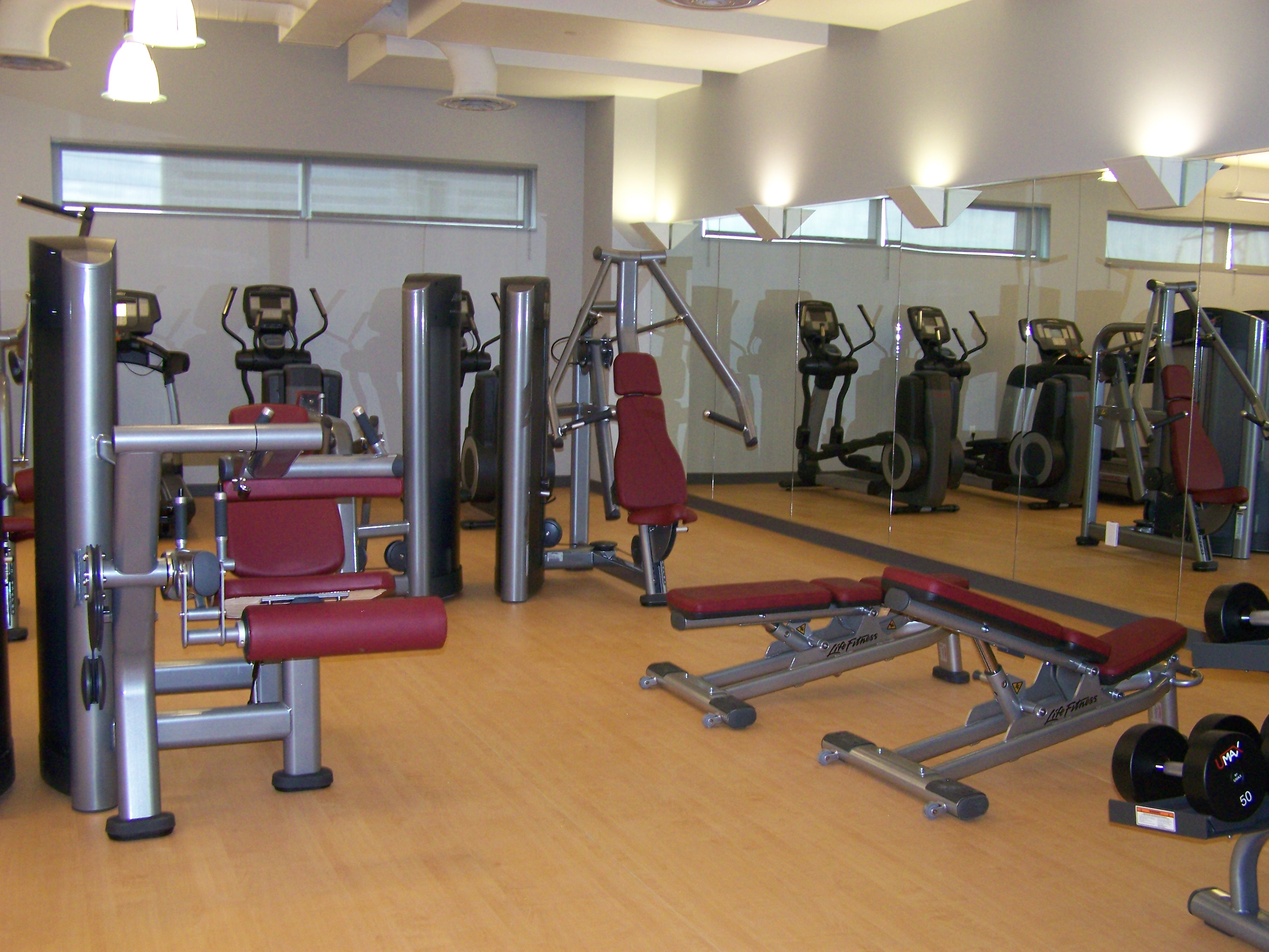 Dallas Center Fitness Equipment