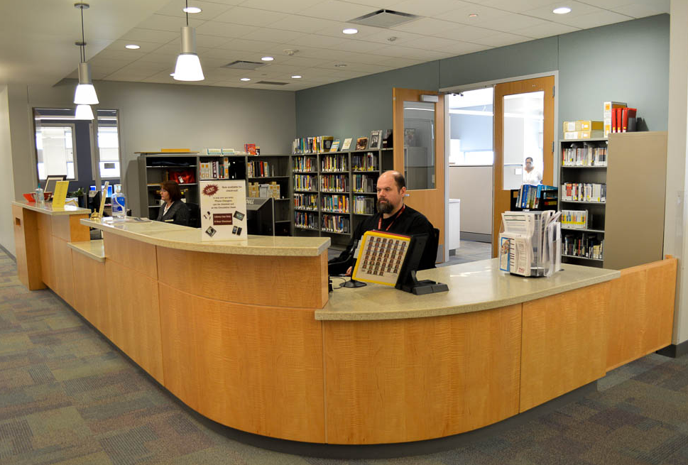 Dallas Center Library Information Desk