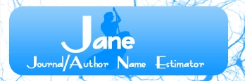 JANE: Journal/Author Name Estimator logo