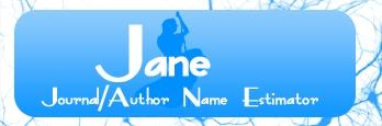 JANE: Journal/Author Name Estimator logo
