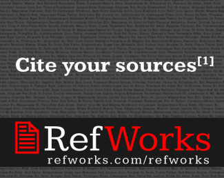 RefWorks sign image