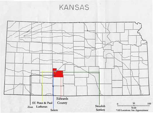 Edwards settlement map