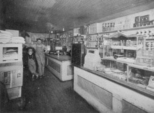E.B. Waldren's store