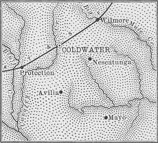 Comanche County map