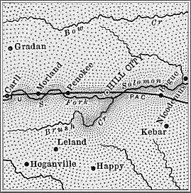 Graham County map