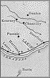 Kearny County map